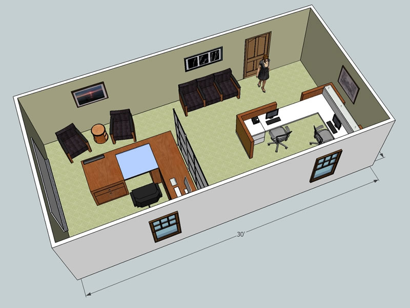 3d office design service wny office space for 3d office planner