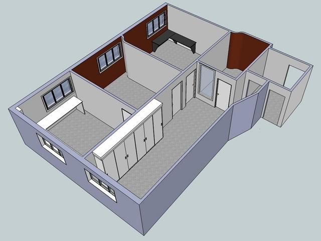 Multi-office layout