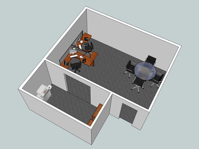 3d Layout Examples – WNY Office Space