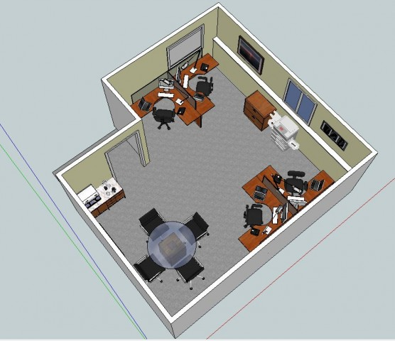 Office design and layout service