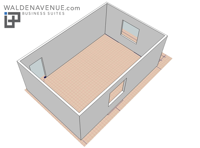 Branded office layout