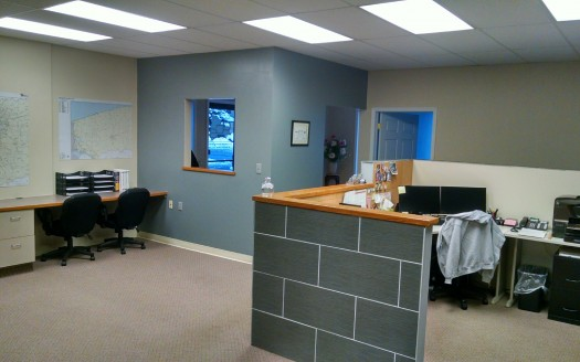 depew office reception area