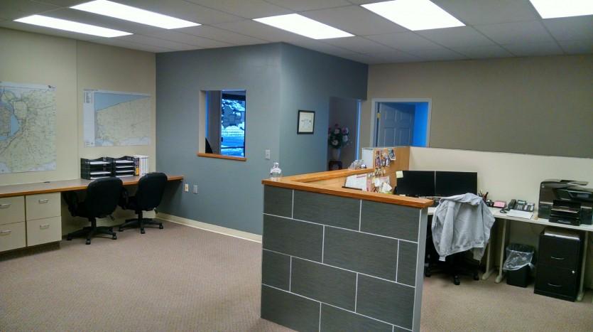 depew office reception area