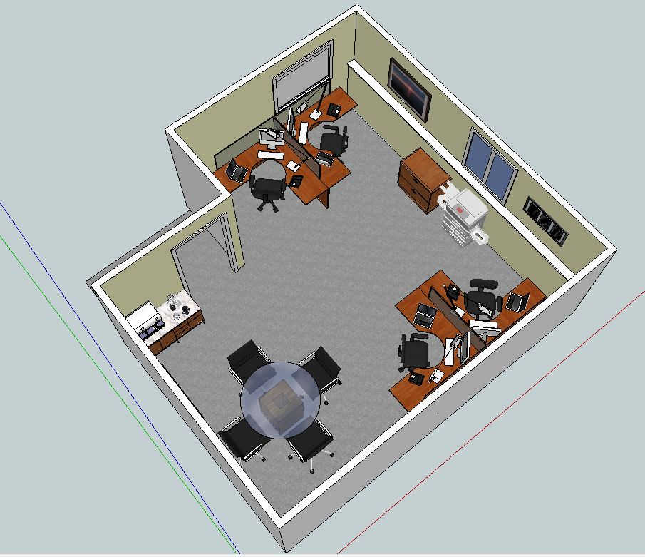 Office in lancaster ny includes everything wny office for Design an office space layout online
